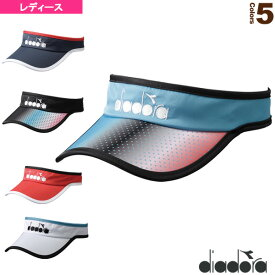 [ディアドラ テニス アクセサリ・小物]team pack/W サンバイザー/レディース(DTA0745)