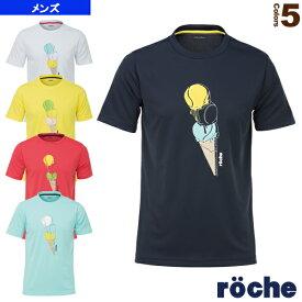 [ローチェ(roche) テニス・バドミントン ウェア(メンズ/ユニ)]Tシャツ/メンズ(RA061)