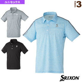 [スリクソン テニス・バドミントン ウェア(メンズ/ユニ)]ポロシャツ/ツアーライン/ユニセックス(SDP-1003)