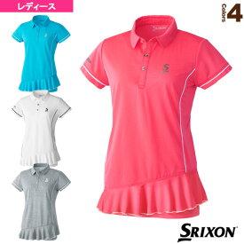 [スリクソン テニス・バドミントン ウェア(レディース)]ポロシャツ/ツアーライン/レディース(SDP-1021W)