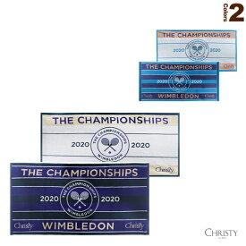 [Christy テニス アクセサリ・小物]ウィンブルドン2020 チャンピオンシップタオル(41129521/41129538)