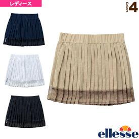 [エレッセ テニス・バドミントン ウェア(レディース)]プリーツスカート/Pleat Skirt/レディース(EW20351)