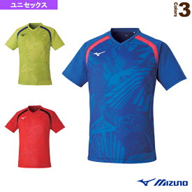 [ミズノ 卓球 ウェア(メンズ/ユニ)]ゲームTシャツ/ユニセックス(82JA0Z20)
