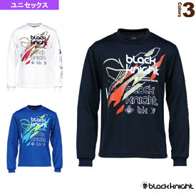 [ブラックナイト テニス・バドミントン ウェア(メンズ/ユニ)]ロングTシャツ/ユニセックス(T-0250)