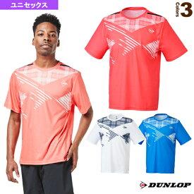 [ダンロップ テニス・バドミントン ウェア(メンズ/ユニ)]ゲームシャツ/ユニセックス(DAP-1100)