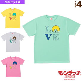 [モンチッチスポーツ テニス・バドミントン ウェア(メンズ/ユニ)]モンチッチ Tシャツ/ユニセックス(M0041)