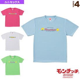 [モンチッチスポーツ テニス・バドミントン ウェア(メンズ/ユニ)]モンチッチ Tシャツ/ユニセックス(M0044)