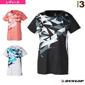 [ダンロップ テニス・バドミントン ウェア(レディース)]ゲームシャツ/レディース(DAP-1160W)