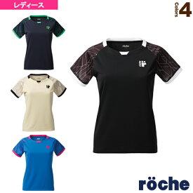 [ローチェ(roche) テニス・バドミントン ウェア(レディース)]ゲームシャツ/レディース(RE301)