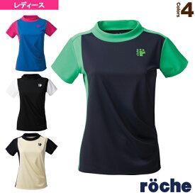 [ローチェ(roche) テニス・バドミントン ウェア(レディース)]ゲームシャツ/レディース(RE371)