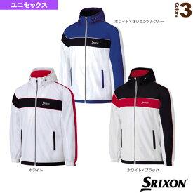 [スリクソン テニス・バドミントン ウェア(メンズ/ユニ)]TEAM LINE/ウインドジャケット/ユニセックス(SDW-4552)テニスウェア男性用