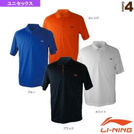 [リーニン テニス・バドミントン ウェア(メンズ/ユニ)]ユニゲームシャツ/ユニセックス(APLG089)