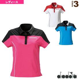 [ディアドラ テニス・バドミントン ウェア(レディース)]Wゲームシャツ/レディース(TL4393)