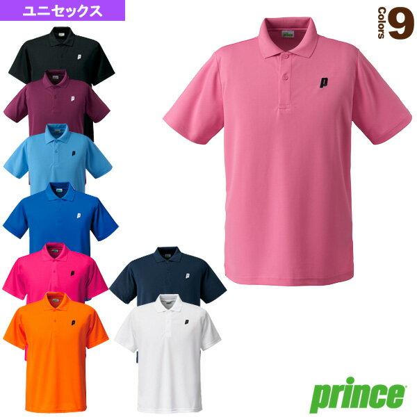 [プリンス テニス・バドミントン ウェア(メンズ/ユニ)]ゲームシャツ/ユニセックス(TMU122T)