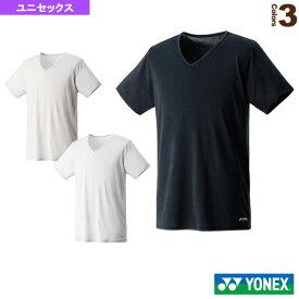[ヨネックス オールスポーツ アンダーウェア]半袖シャツ/ユニセックス(44002)テニスウェアバドミントンウェア