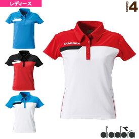 [ディアドラ テニス・バドミントン ウェア(レディース)]ゲームシャツ/レディース(TL5345)