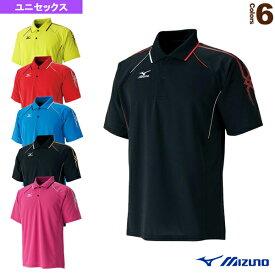 [ミズノ テニス・バドミントン ウェア(メンズ/ユニ)]ゲームシャツ/ユニセックス(62MA5018)バドミントンウェア男性用