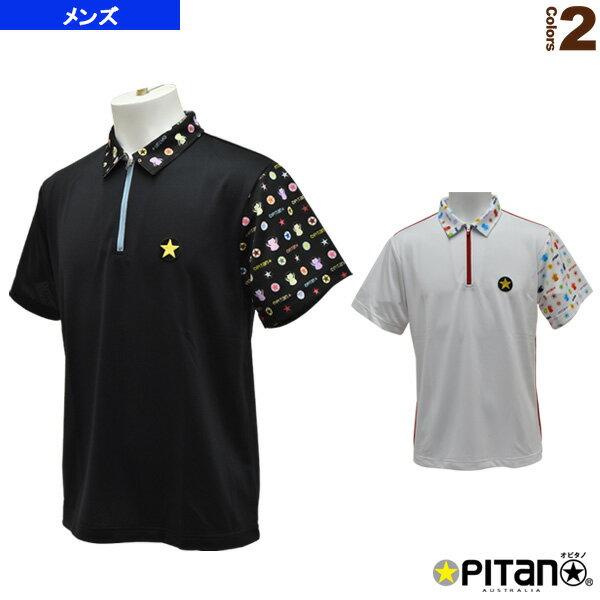 [オピタノ テニス・バドミントン ウェア(メンズ/ユニ)]UVカット&クール・ジップポロcombi/メンズ(OPT-119)