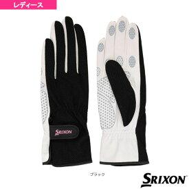 [スリクソン テニス アクセサリ・小物]テニスシリコンプリントグローブ/両手セット/レディース(SGG2550)手袋