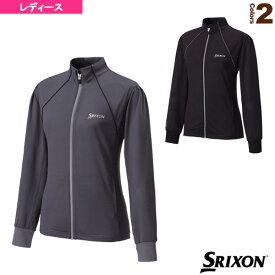 [スリクソン テニス・バドミントン ウェア(レディース)]メッシュジャケット/レディース(SDF-5530W)テニスウェア女性用