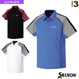 [スリクソン テニス・バドミントン ウェア(メンズ/ユニ)]ポロシャツ/ユニセックス(SDP-1512)テニスウェア男性用