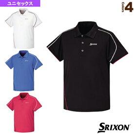 [スリクソン テニス・バドミントン ウェア(メンズ/ユニ)]ポロシャツ/ユニセックス(SDP-1513)テニスウェア男性用