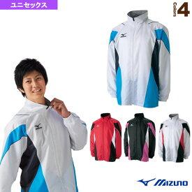 [ミズノ テニス・バドミントン ウェア(メンズ/ユニ)]ウォームアップシャツ(裏メッシュ)/ユニセックス(A75NM381)テニスウェアバドミントンウェア男性用