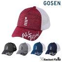 【限定】2019春限定モデル ゴーセン GOSEN 2019 ALL JAPAN キャップ ヘザー杢 C19A02 帽子 (ゴーセン キャップ 2019 …
