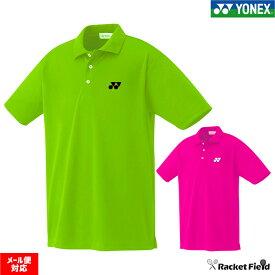 【限定】【メール便送料無料】 YONEX ヨネックス ポロシャツ 半袖 10300Y ヨネックス ソフトテニス ウェア & バドミントン ウェア【テニスウェア バトミントン ヨネックス バトミントンウェア】