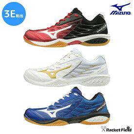 バドミントンシューズ ミズノ バドミントンシューズ ウェーブクロー(71GA1910)3E相当の方向け 室内 体育館 靴 軽量 速さでゲームを支配する。軽量性と加速性のスピードモデル バトミントン シューズ MIZUNO badminton shoes