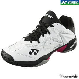 ソフトテニス シューズ ヨネックス YONEX パワークッション107Dワイド(SHT107DW)4Eワイド設計 クレー・砂入り人工芝コート用 ソフトテニス 軟式テニス YONEX tennis shoes racketfield