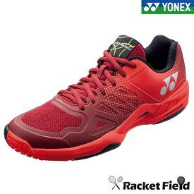 テニスシューズ ヨネックス YONEX テニス シューズ パワークッションエアラスダッシュ GC POWER CUSHION EARUSDASH 2GC(SHTAD2GC)001レッド クレー・砂入り人工芝用 (軟式テニス シューズ ソフトテニス シューズ ヨネックス yonex soft tennis shoes)