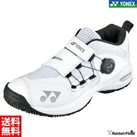 【送料無料】ヨネックス テニスシューズ パワークッションコンフォートワイドダイヤル3GC(SHTCWD3G)ミッドカット 4Eワイド設計 ソフトテニス 軟式テニス YONEX tennis shoes