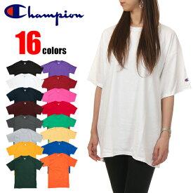 チャンピオン Tシャツ CHAMPION 大きいサイズ USモデル 無地 ワンポイント ロゴ 半袖 男女兼用 レディース メンズ