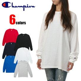 チャンピオン ロンT Tシャツ 長袖Tシャツ ロングスリーブTシャツ CHAMPION レディース メンズ ユニセックス 男女兼用 大きいサイズ USAモデル 無地 ワンポイント ロゴ