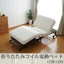 【送料無料】アイリスオーヤマ 折りたたみコイル電動ベッド OTB-CDN[BED]