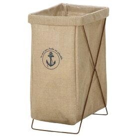 麻ランドリーボックス 縦型 ベージュ 30685ランドリーボックス ランドリーバスケット ランドリーバッグ 脱衣かご 不二貿易 【D】3ss10