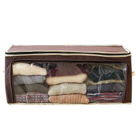 炭入り消臭衣類収納ケース 1007482衣類 収納ケース 収納袋 衣替え 衣装ケース アイメディア株式会社 【D】