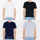【NEW】アメリカンアパレル(americanapparel)FINE JERSEY S/S T-SHIRTファインジャージー クルーネック 半袖Tシャツ…