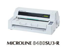 【送料・代引き手数料無料】沖データ ドットインパクトプリンタ ML8480SU3-R