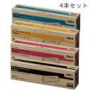 【純正品】OKI TNR-C3L(大容量) 4色セット