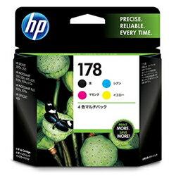 【送料無料】 HP 178 4色マルチパック CR281AA