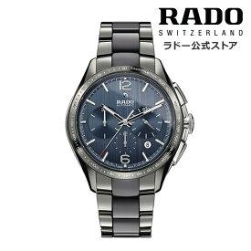 【公式/送料無料】RADO ラドー メンズ HYPERCHROME AUTOMATIC CHRONOGRAPH ハイパークローム オートマティック クロノグラフ R32120202 自動巻き 機械式 ムーブメント プラズマ ハイテク セラミックス ブレスレット 時計 スイス オフィシャル