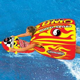 【トーイングチューブ】 バナナボート SPORTSSTUFF スポーツスタッフ SUMO&SPLASH GUARD combo スモウ&スプラッシュ ガード セット 1人乗り