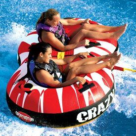 2019 トーイングチューブ バナナボート 2人乗り SPORTSSTUFF スポーツスタッフ CRAZY 8 クレイジーエイト