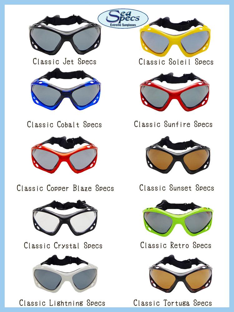 SEA SPECS シースペックス マリンスポーツ用 サングラス