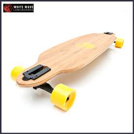 WHITE WAVE ロング スケートボード BANDIT 36インチ ホワイト ウェーブ ロンスケ コンプリート