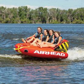 【2021 トーイングチューブ】 バナナボート 4人乗り グレートビッグマーブル AIRHEAD スポーツスタッフ GREAT BIG MABLE
