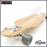 WHITEWAVEロングスケートボードホワイトウェーブロングボードTheMayhem41インチロンスケ