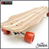 WHITEWAVEロングスケートボードSHOCKER39インチ日本未発売ホワイトウェーブ